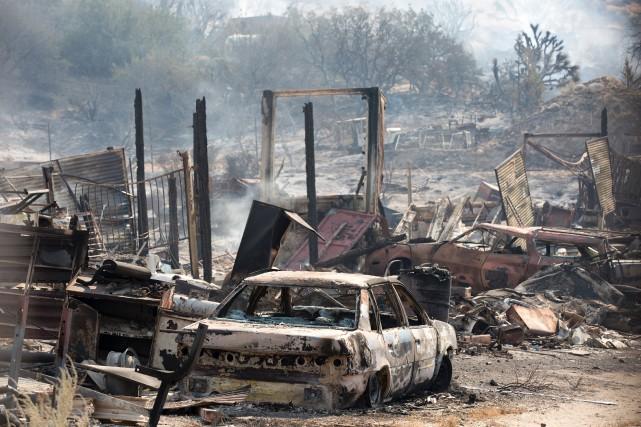 Les responsables estiment que plus de 34 000... (PHOTO JONATHAN ALCORN, AFP)