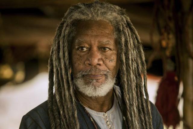 Morgan Freeman dans une scène de Ben-Hur.... (Photo fournie par Paramount Pictures)