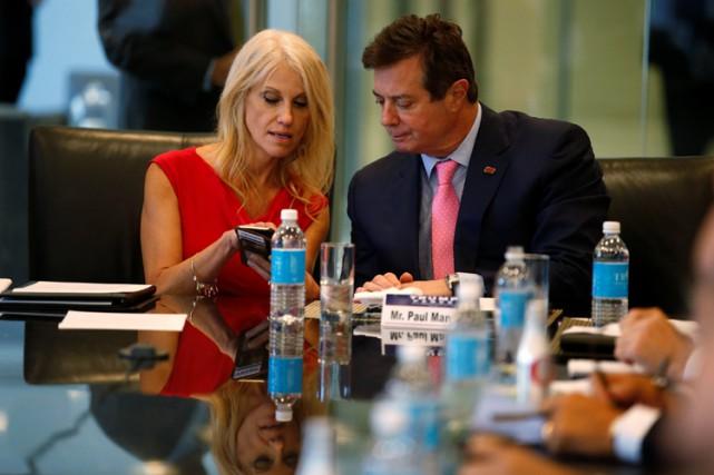 Kellyanne Conway, la nouvelledirectrice de la campagnede Donald... (PHOTO REUTERS)