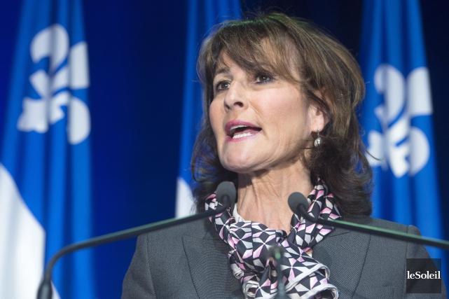 La ministrede l'Immigration du Québec, Kathleen Weil, suggère... (Photothèque Le Soleil)