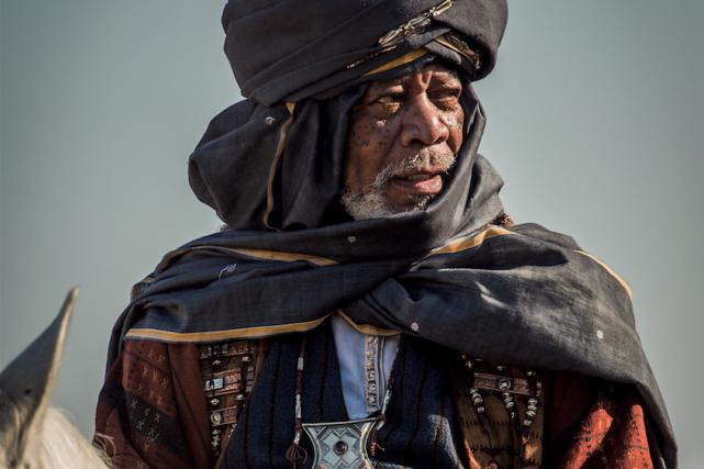 Morgan Freeman incarne Ilderim dans Ben-Hur.... (Photo fournie par Paramount Pictures)