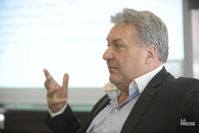Le directeur général d'IDE Trois-Rivières, Mario De Tilly,... (Sylvain Mayer, Le Nouvelliste)