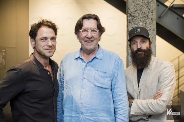 Patrick Labbé, Gilles Renaud et David La Haye... (La Presse, Édouard Plante-Fréchette)