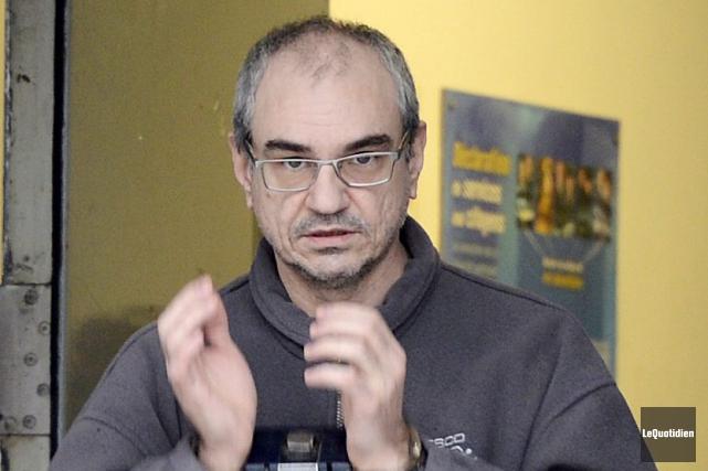 Éric Fortin devra passer des tests urinaires, afin... (Archives Le Quotidien, Jeannot Lévesque)