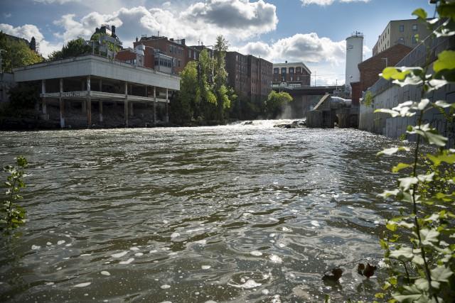 Avant les précipitations des derniers jours, l'assèchement des... (Spectre Média, Marie-Lou Béland)