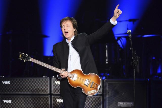 Paul McCartney travaille à un nouvel album... (AFP, Bertrand Guay)