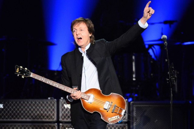 Paul McCartney travaille à un nouvel album en studio, révèle mercredi la maison... (Archives AFP)