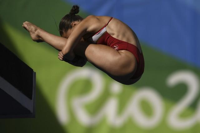 Roseline Filion a dû travailler particulièrement fort pour... (AFP, Martin Bureau)