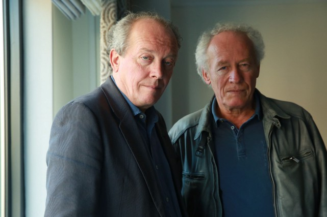 Luc et Jean-Pierre Dardenne... (Photo Amy Sussman, Archives Associated Press)