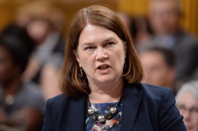 La ministre de la Santé, Jane Philpott.... (THE CANADIAN PRESS)