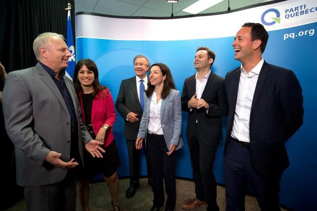 Les candidats à la direction du Parti québécois:...