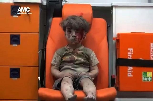 Omrane Daqneesh... (AFP)