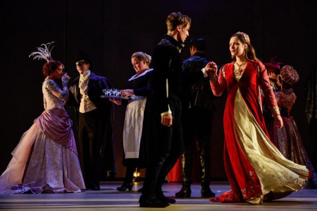La pièce de théâtre Roméo et Juliette a... (PhotoYves Renaud, fournie par le TNM)
