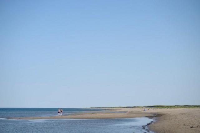 La plage Kellys, longue de 6km, est la... (Photo fournie par le Parc national Kouchibouguac)