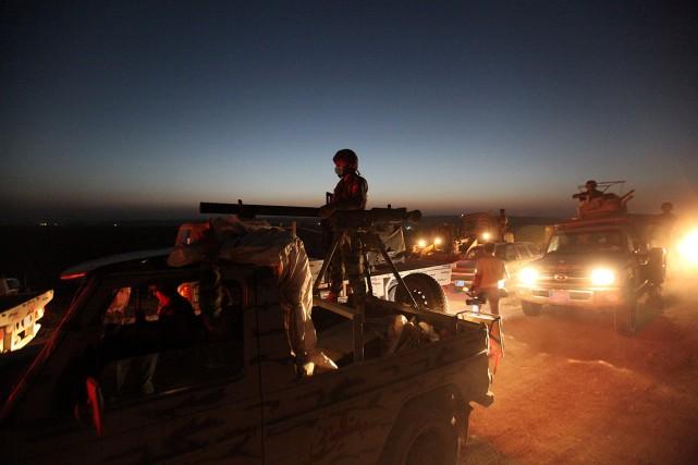 Ces derniers jours, les peshmergas kurdes ont repris... (Photo Azad Lashkari, archives Reuters)