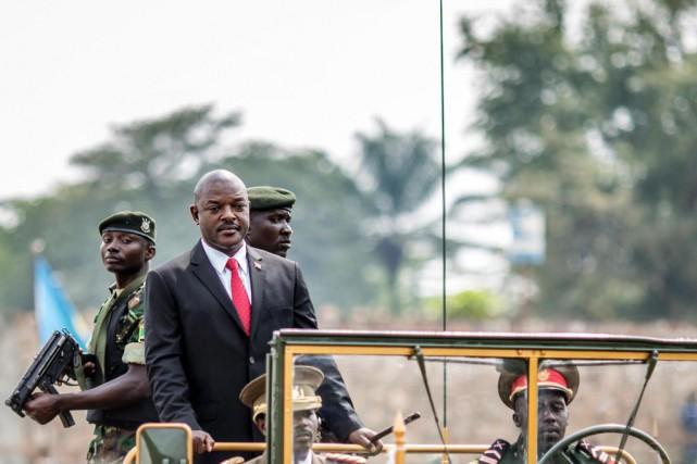 Le parti du président burundais Pierre Nkurunziza soutient... (Photo Marco Longari, archives Agence France-Presse)