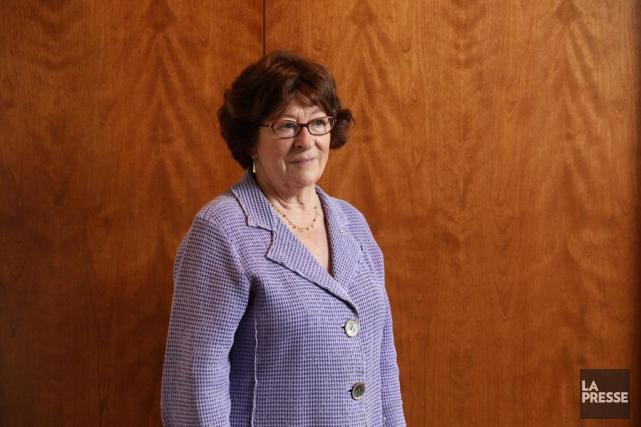 Louise Arbour,ancienne haute-commissaire des Nations unies aux droits... (PHOTO Martin Chamberland, archives LA PRESSE)