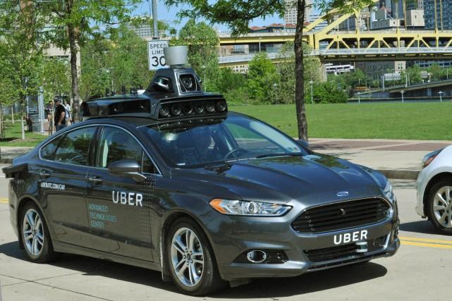 Les véhicules utilisés dans le cadre du programme... (Photo AP)