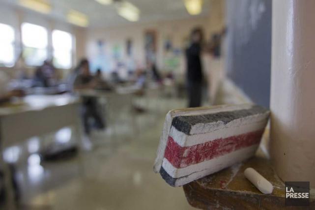 Les projets de construction et de réfection des écoles se traduiront par des... (PHOTO IVANOH DEMERS, ARCHIVES LA PRESSE)