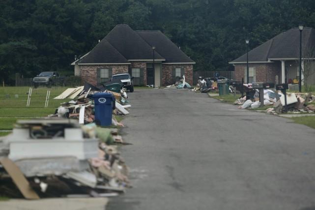 L'heure est au ménage en Louisiane.... (AFP)