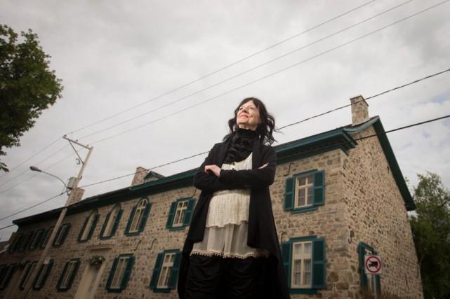 Françoise Mayrand a restauré de façon remarquable un... (Photo Ivanoh Demers, La Presse)