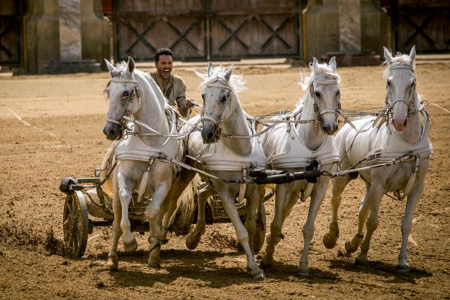 Jack Hustoncampe le rôle-titre dans le film Ben-Hur.... (Photo fournie par Metro-Goldwyn-Mayer Pictures et Paramount Pictures)