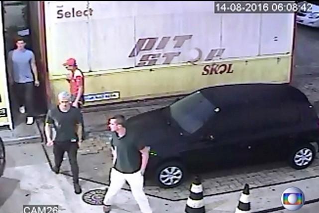 «Les images de vidéosurveillance ne montrent aucun type... (Photo REUTERS)