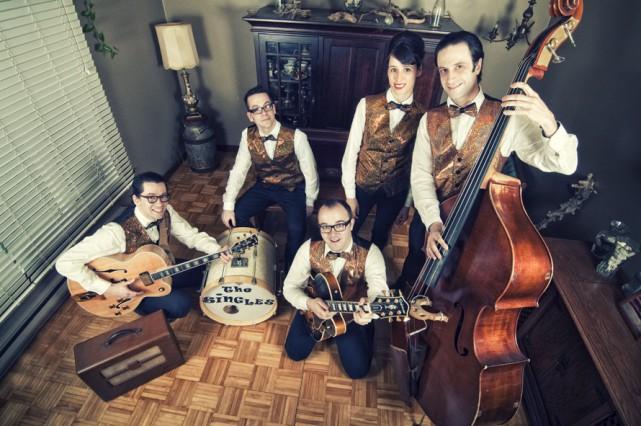 Le groupe sherbrookois The Singles présentera son répertoire... (Fournie)