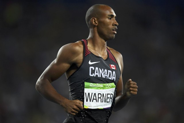 Le Canadien Damian Warner lors de la finale... (Photo Dylan Martinez, archives REUTERS)