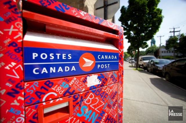 Saviez-vous que Postes Canada possède le réseau logistique... (Archives La Presse)