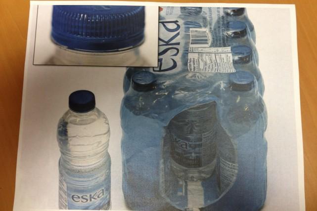 Le GHB a été retrouvé dans ces bouteilles...