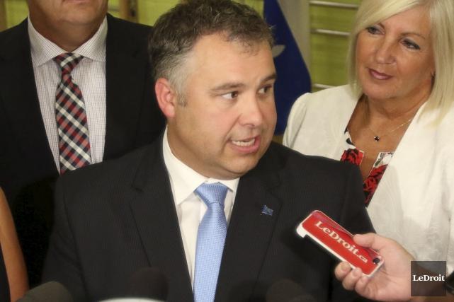 Le ministre Sébastien Proulxaffirme que l'avenue de la... (Patrick Woodbury, LeDroit)