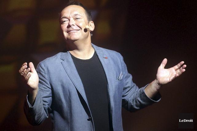 Jean-Michel Anctilexcelle dans l'art de provoquer des rires... (Etienne Ranger, LeDroit)