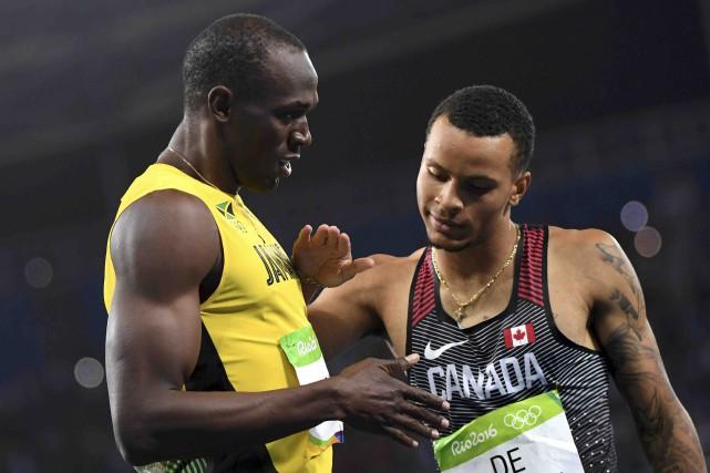 Le Jamaïcain Usain Bolt est resté invincible, mais... (AFP, Olivier Morin)
