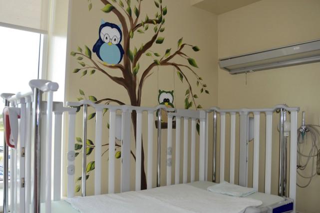 La chambre des bébés est devenue «la chambre... (Collaboration spéciale Johanne Fournier)
