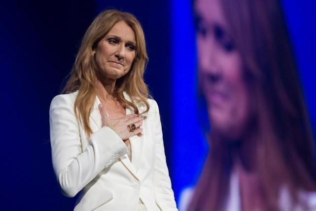 Céline Dion a donné un concert au Centre... (PhotoGraham Hughes, La Presse Canadienne)