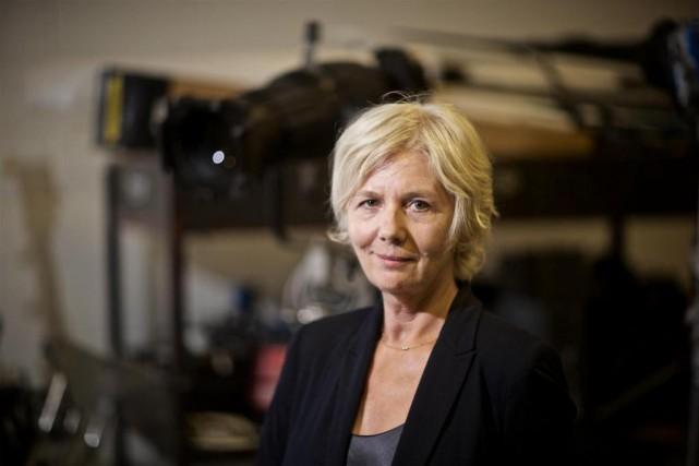 Lise Grégoire voulait être actrice, puis est devenue... (Photo André Pichette, La Presse)
