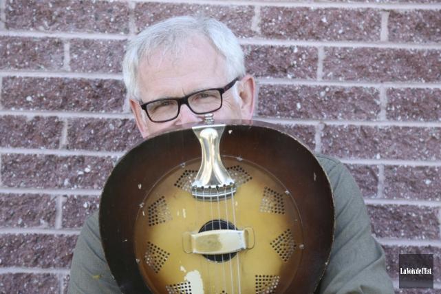 Depuis cinq ans, Rick Haworth fait partie du... (Julie Catudal, La Voix de l'Est)