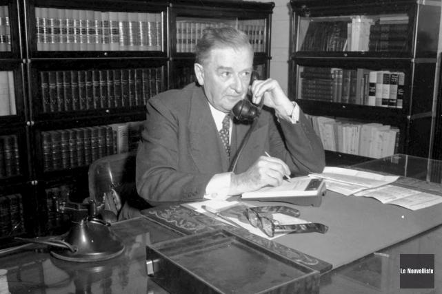 Maurice Duplessis était un bourreau de travail, même... (Archives Le Nouvelliste)