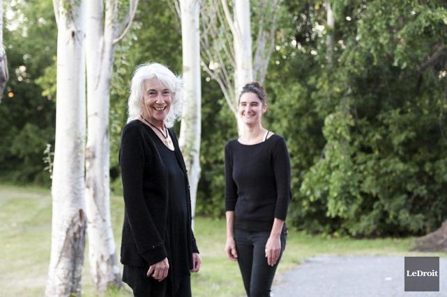 La directrice du centre Moon Rain, Thoma Ewen,... (Etienne Ranger, LeDroit)