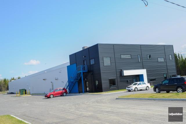 L'usine d'extrusion d'Alma appartient au CEE-UQAC.... (Archvies Le Quotidien, Gimmy Desbiens)