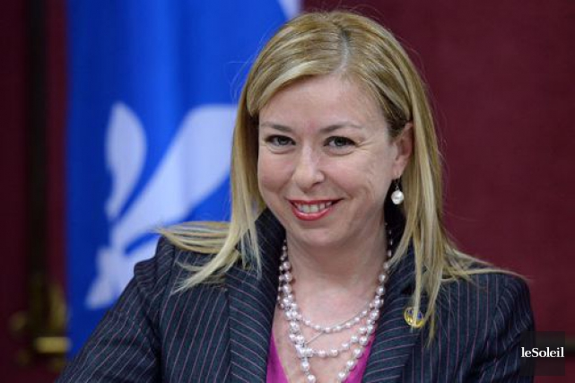 La ministre du Travail, Dominique Vien... (Photothèque Le Soleil)