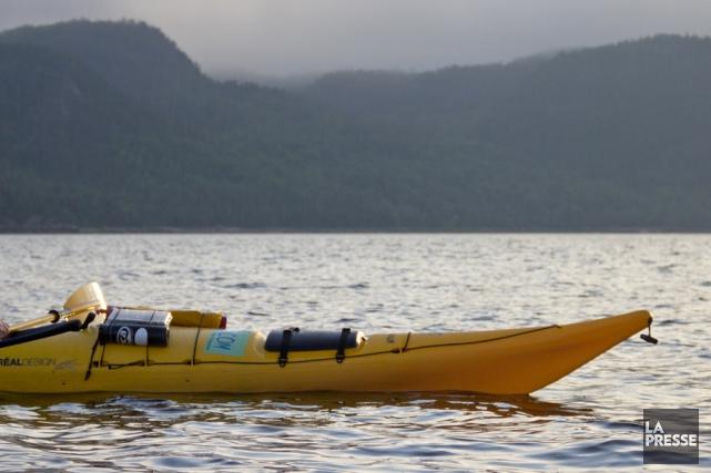 Une kayakiste qui était disparue depuis des heures... (Archives La Presse)