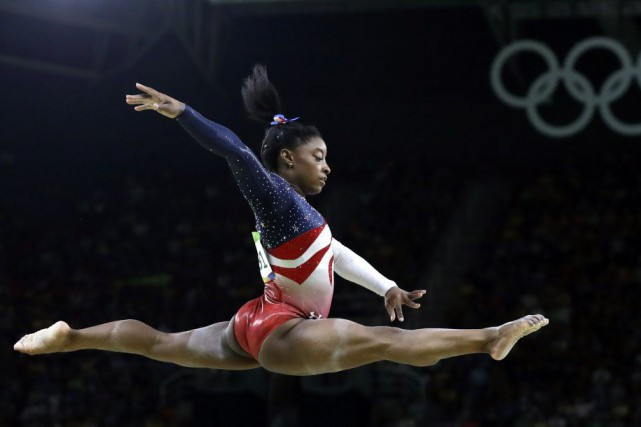 Simone Biles « a été choisie par un vote des... (PHOTO REBECCA BLACKWELL, ARCHIVES AP)