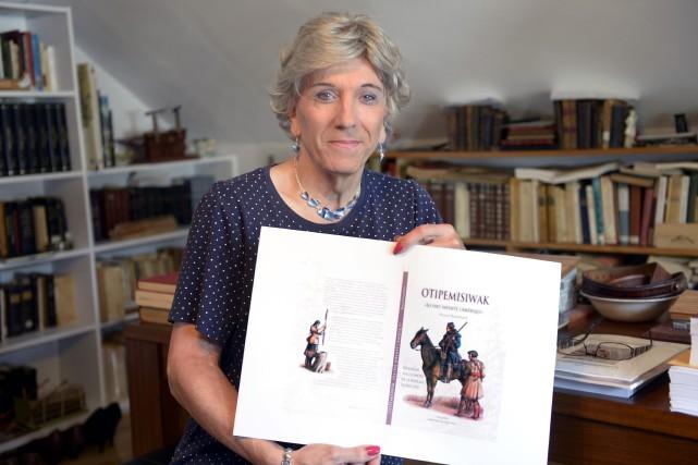 Russel-Aurore Bouchard lancera son nouveau livre, Otipemiwiska, le... (Photo Le Progrès-Dimanche, Jeannot Lévesque)
