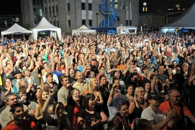 Le festival de musique et culture traditionnelles les Grandes Veillées de La... (Archives Le Progrès-Dimanche, Rocket Lavoie)