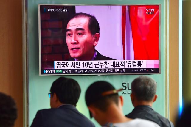 L'agence de presse officielle de l'État nord-coréen (KCNA)... (AFP)
