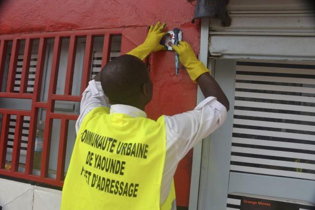 La mairie de Yaoundé a lancé en juillet... (AFP)