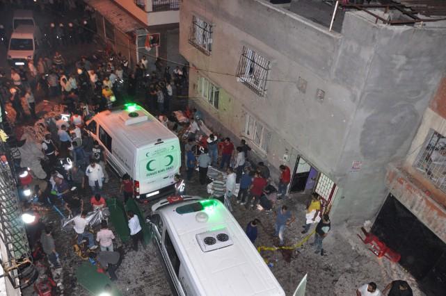 L'attentat a visé un mariage auquel assistaient de... (PHOTO ASSOCIATED PRESS)