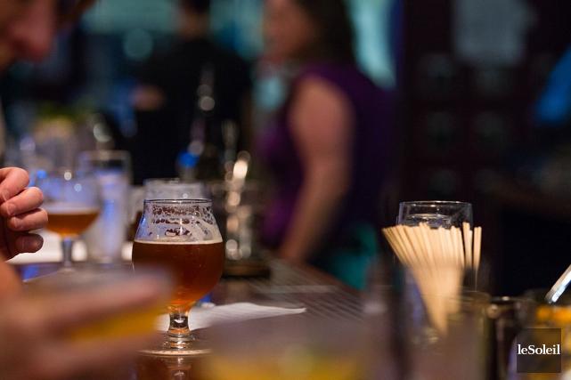 De façon générale, 8 Québécois sur 10 boivent... (Photothèque Le Soleil)